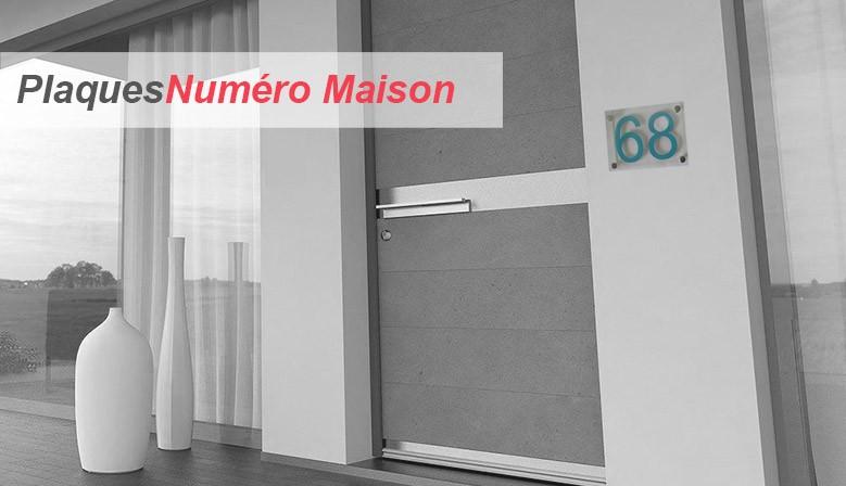 Plaques Numéro de maison design